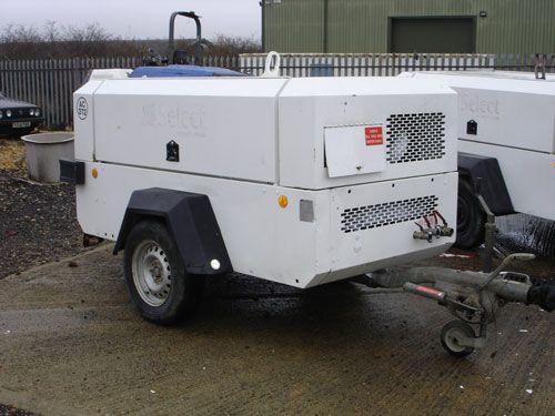 Ingersoll Rand 7/71 Compressor 260cfm @ 100psi