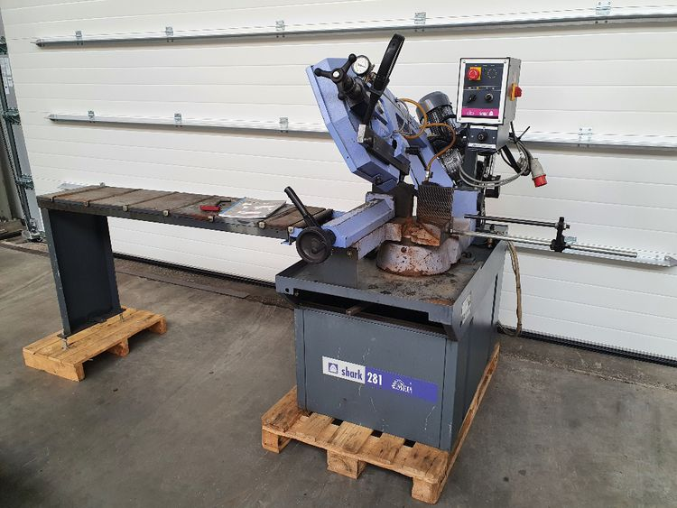 MEP Shark 281 Sawing machine Semi Automatic