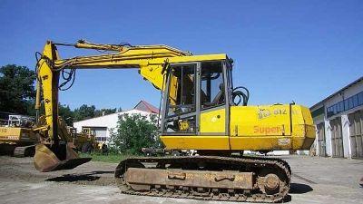 JCB 812 Super Track excavators