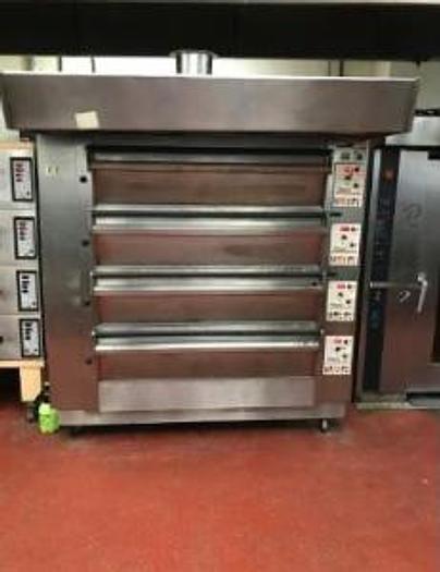 Tom Chandley COMPACTA 4-deck electric oven