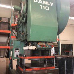 Danly 110 OBI PUNCH PRESS