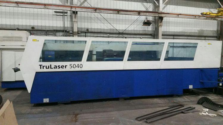 Trumpf 6000-watt Trulaser 5040 Laser cutting system cnc control