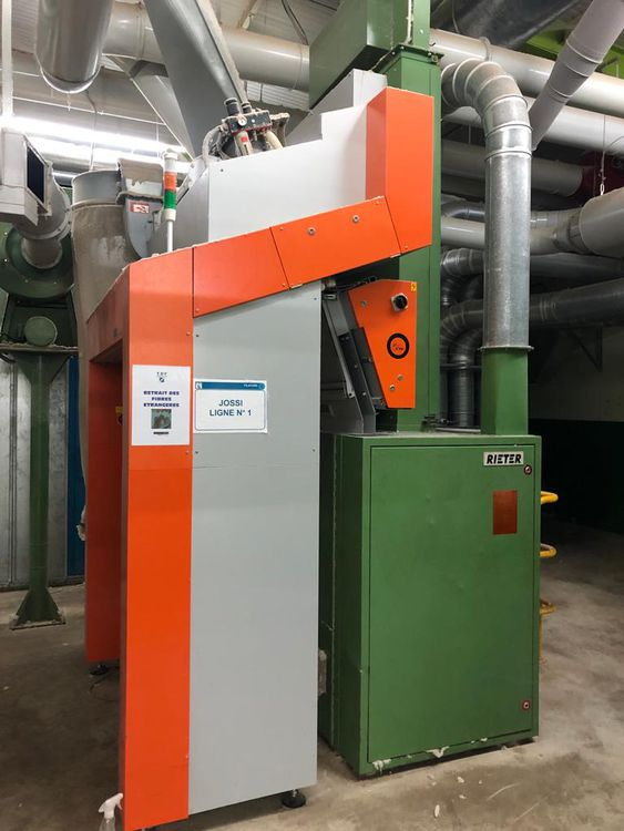 Jossi Xspect ED-55-800 foreign fiber detection