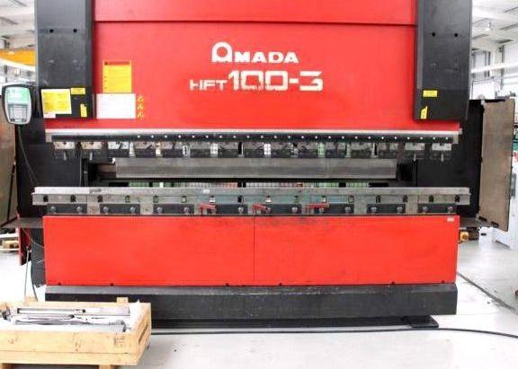 Amada Hydr. pressbrake HFT 100-3 100 Ton