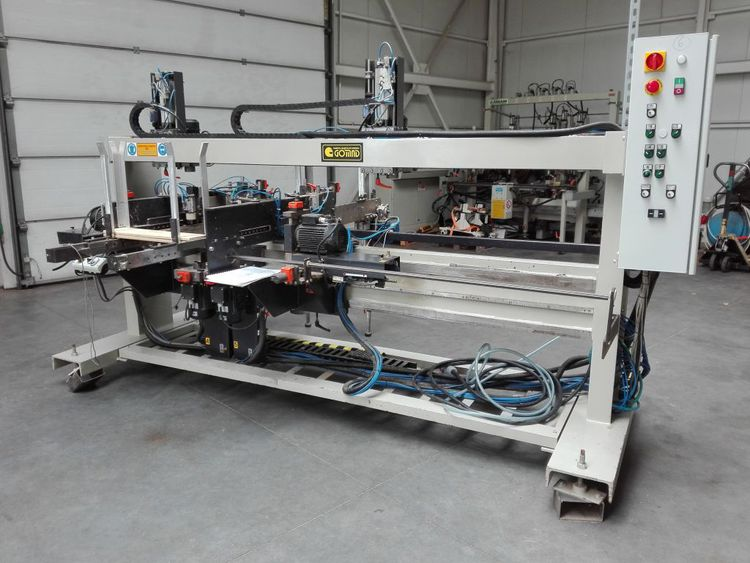 Gomad AWP, Automatic drilling and sawing machine for the production