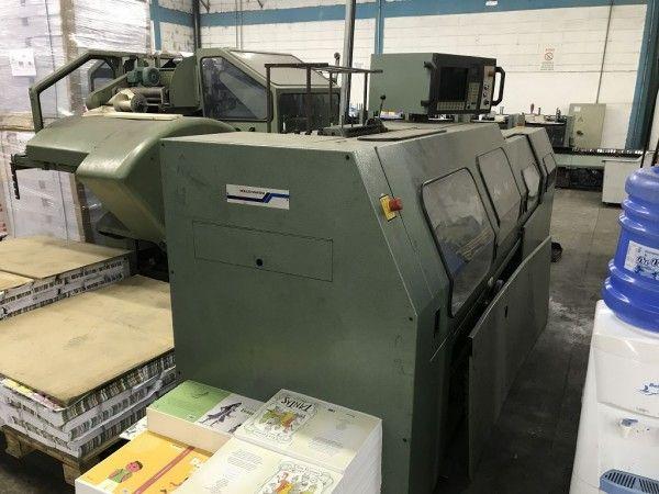 MULLER MARTINI Inventa 3212 Book sewing machine
