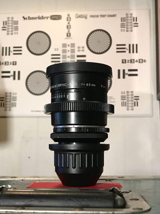 Kowa ANAMORPHIC SET lens