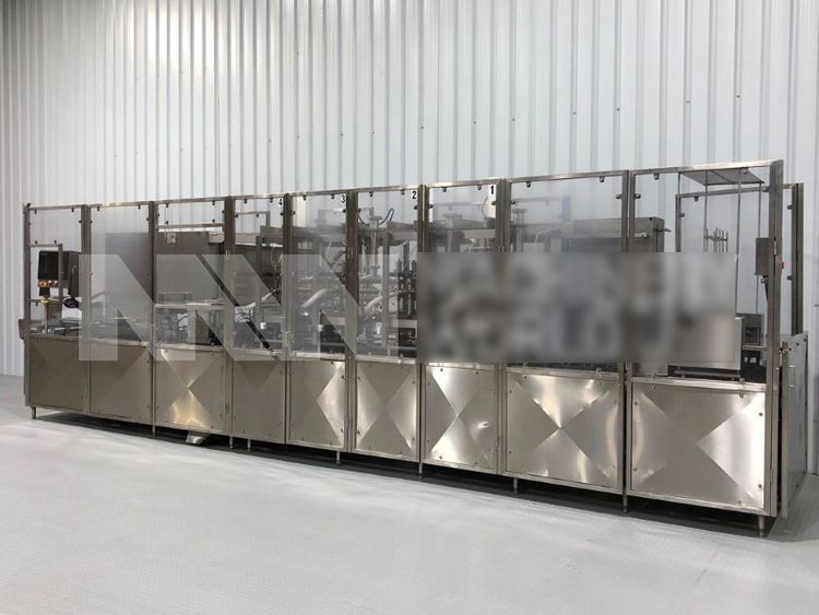 Osgood 2600-E-MP Twin Lane Yoghurt Linear Filling Machine