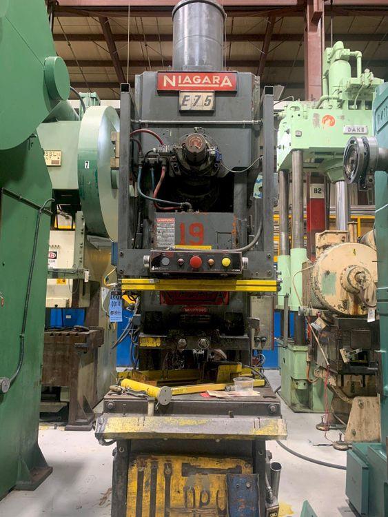 Niagara E75 OBI Press 75 Ton