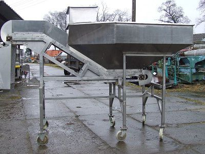 Others Modula Stainless Steel Conveyor with Storage Hopper