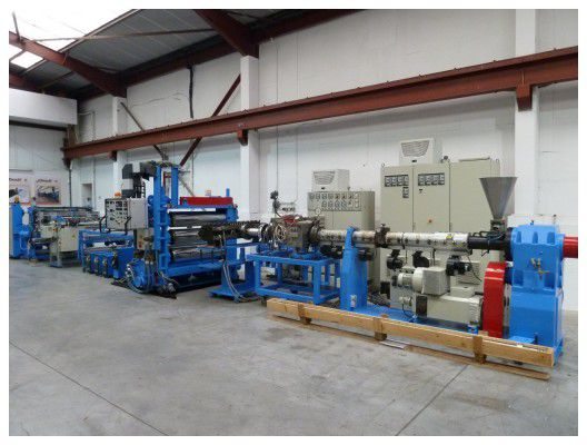 Kuhne Sheet Extrusion line