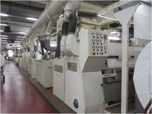 Sucker muller Velours Finishing Machine 200 Cm