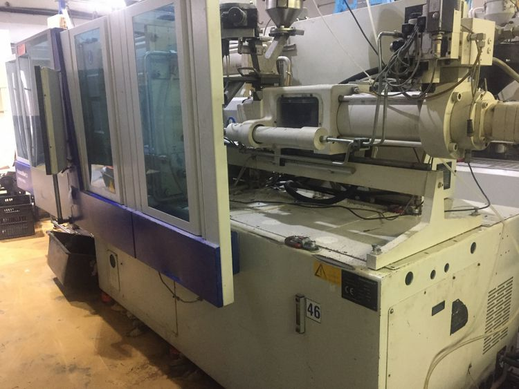 Krauss Maffei KM 160-750 CX INJECTION MOULDING MACHINE