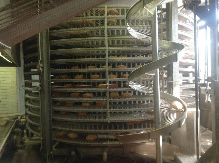 Vulganus spiral freezer