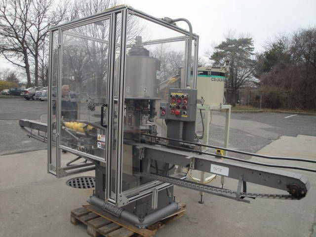 Consolidated D8, ROTARY SCREW CAPPING MACHINE,