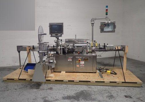 Sancoa PVR-1000 Vertical Roller Labeler