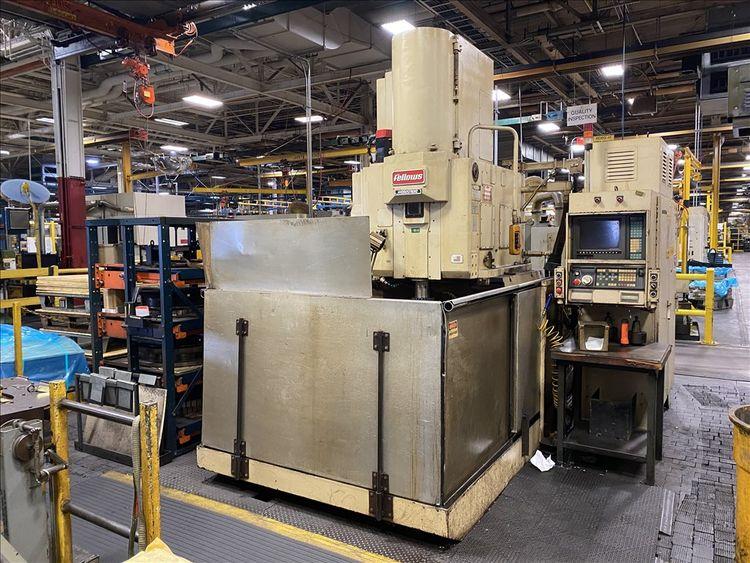Fellows 50-8 Variable HYDROSTROKE CNC GEAR SHAPER