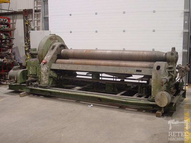 Lisse CB-9-25 Rolling / Crushing machine