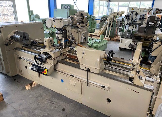 Heckert ZFWVG 250 x 2000 mm Thread Milling- and Hobbing Machine