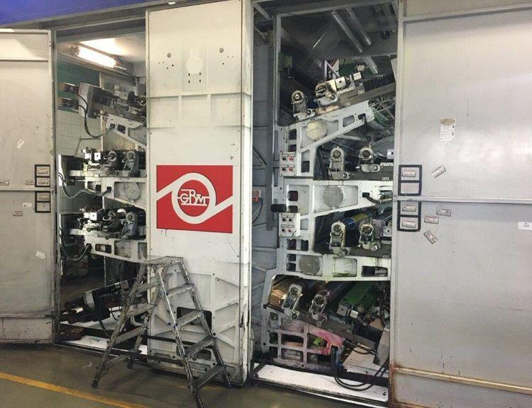 Bielloni Magiflex gearless printing press 8 1320 mm