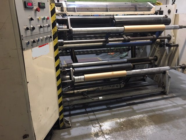 Duffy Slitter rewinder Duffy Eagle Duplex 1600mm