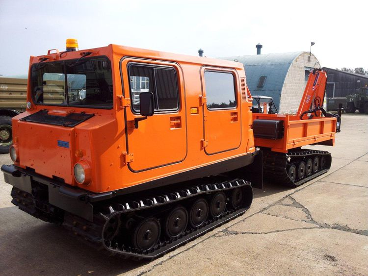 5 Hagglunds Bv206 Load Carrier with MaxiLift PH270 Crane
