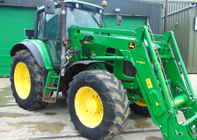John Deere 6830 Tractor