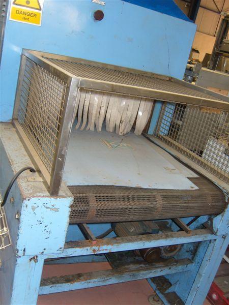 Europack 8805 Shrink Sealer/Wrapper