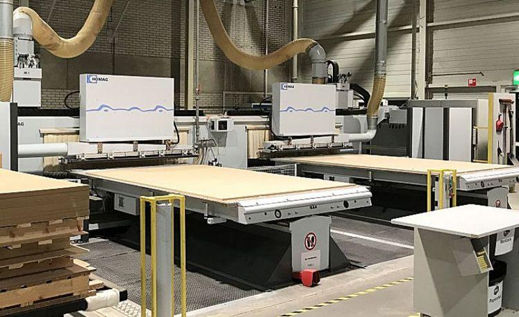 Homag BOF 612 profiline, CNC machining center