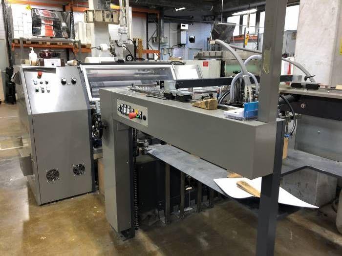Paperplast DRY 50 Laminating machine