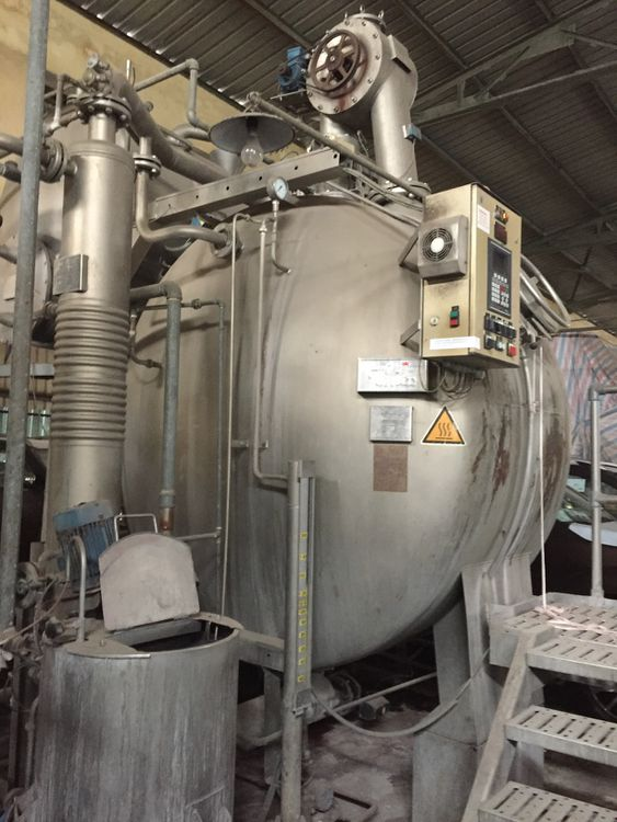 Thies Completed dyeing finishing plant