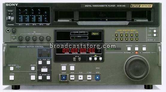 Sony DVW-510H Digital Betacam Player
