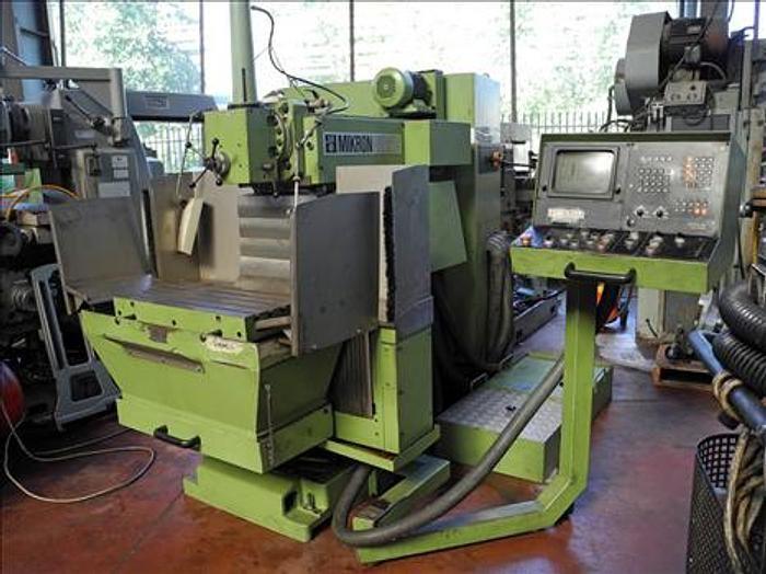 Mikron WF 21C Toolroom Milling Machine 4000 rpm