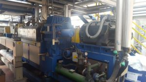 Meccaniche Moderne Extrusion line for PEHD / PP