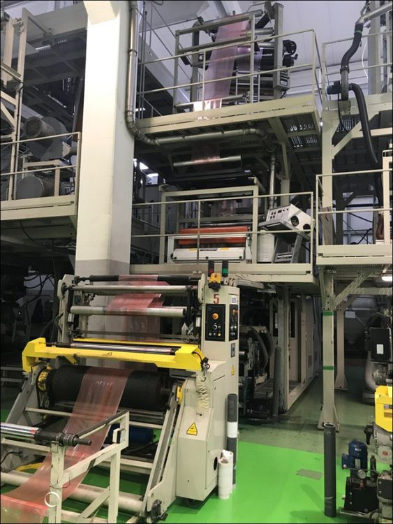 CMG Rotocompact Blown Film Line