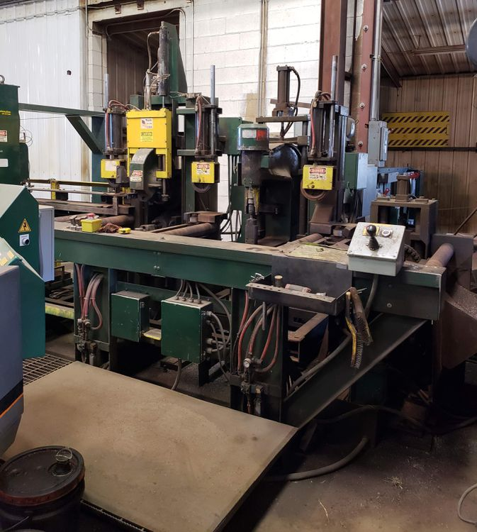 """Whitney 36"""" BEAM PUNCH LINE WITH INFEED/OUTFEED"""