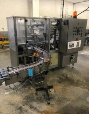 Simon Freres MFS85 , Fully automatic case packer