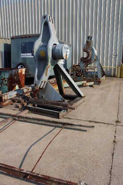 Rodgers IF-400-DP-7218 HYDRAULIC HORIZONTAL INCLINED WHEEL PRESS