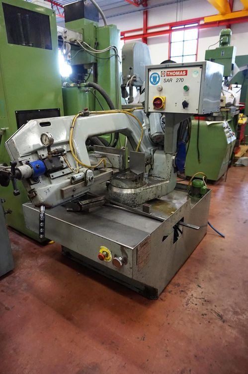 Thomas SAR270 Band Saw Semi Automatic