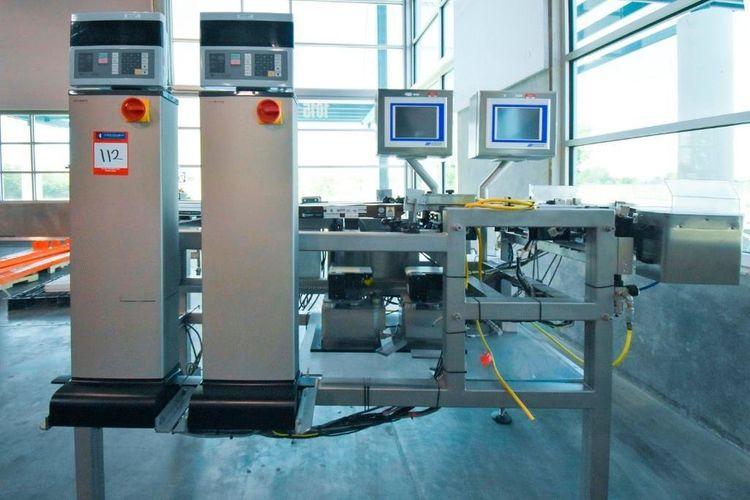 Ishida DACS-WN-003-SB/PB-I High Speed Check Weighing System
