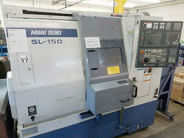 Mori Seiki Mori MSC-501 (Fanuc 16T) CNC Control 5000 RPM SL-150Y CNC TURNING CENTER With LIVE TOOLING & Y-Axis 2 Axis