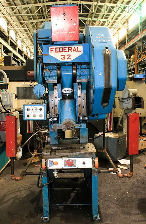 Federal No.32 32Ton OBI Press 32 Ton