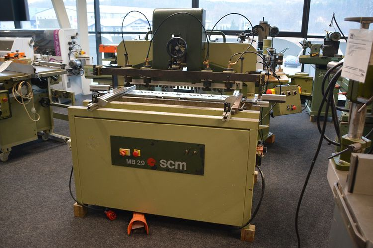 SCM MB 29, MULTI RING SPINDLE DRILL
