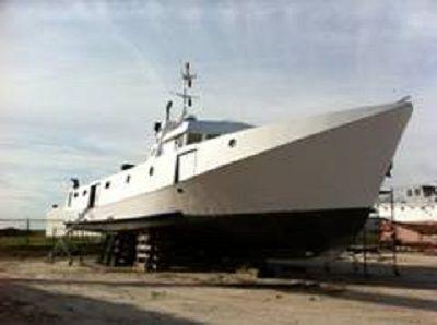 Erieau 64.5' x 22.2' x 5.6' Steel Fishing Vessel Gross tonnage: 128.61 tons Net tonnage: 85.91 tons