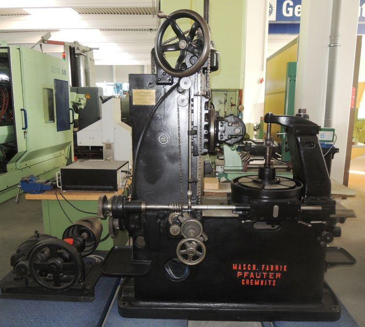 Pfauter Antik 1922 Variable Gear Hobbing Machines