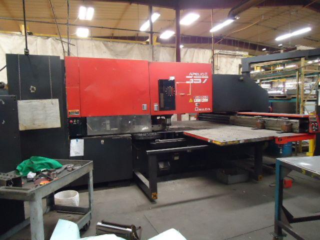 Amada APELIO / PEGA 357, CNC Turret Punch
