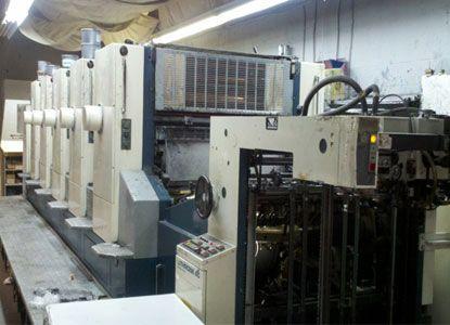 Komori L540. 5 Colors Offset Machine Max. 72 x 102 cm