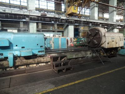 Skoda Engine Lathe Variable SIU 1600 x 8000