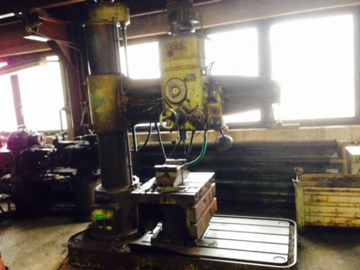 Drilling machines - radial VR 4 Variable