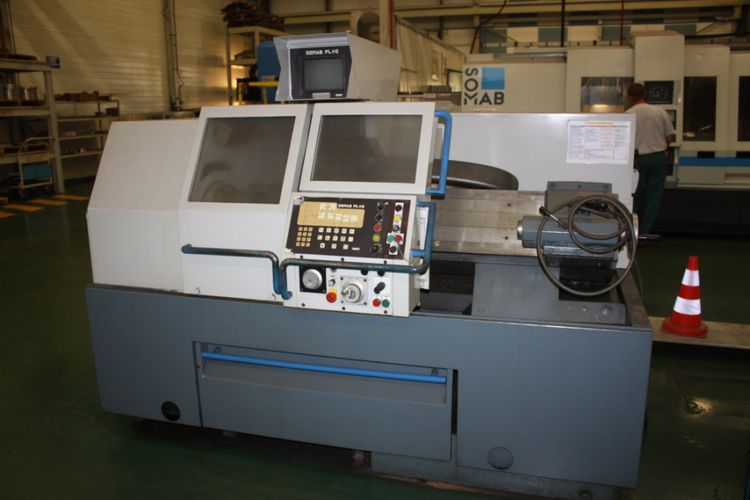 Somab NUM SOMAB PL + 5  400  Lathe, CNC Fixed Head